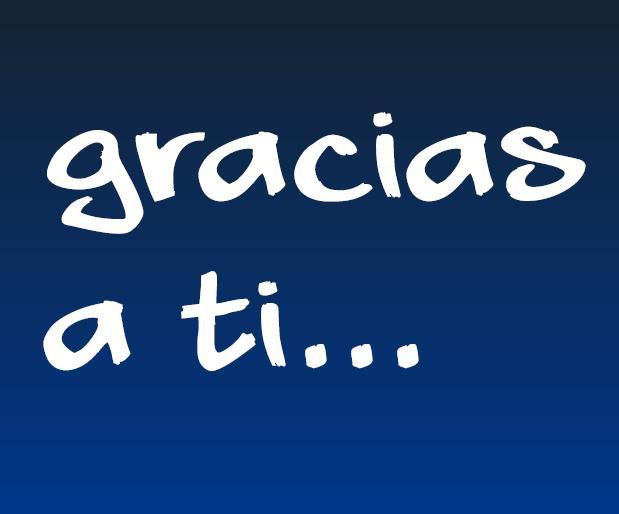 MUCHAS GRACIAS A TOD@S - HuergaFrailes Amigos - Gabitos