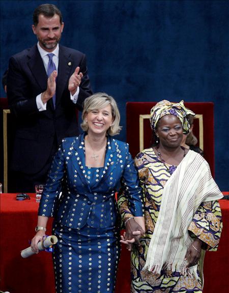 Manos Unidas recoge el Premio Príncipe de Asturias. Foto:fpa