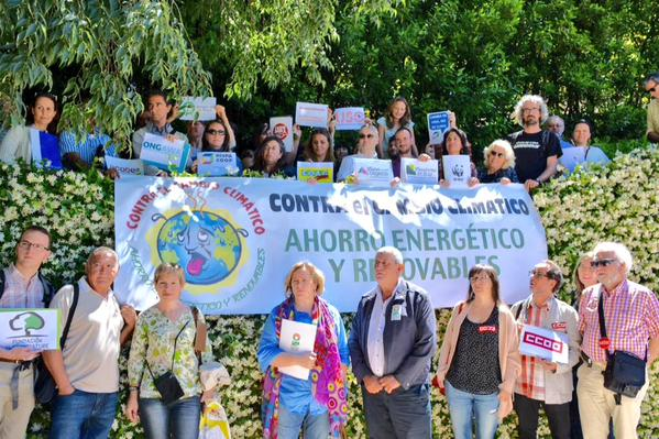 "Foto de la ""Alianza por el Clima"" : Foto de Cumbre Social"