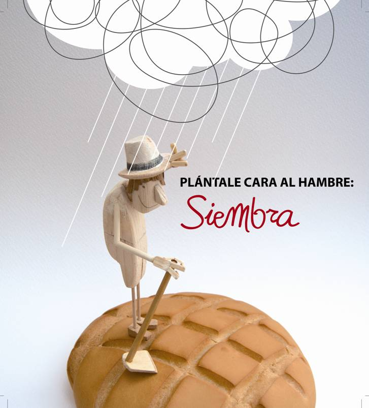 Finalista Premio Manos Unidas de carteles. Autor: Juan Daniel Sanz
