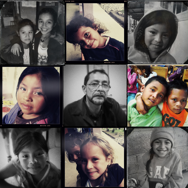 Algunos de los niños y adolescentes por los que trabaja el padre Sergio Godoy en Comunidad Esperanza. Fotos. Alicia Petrashova para Manos Unidas