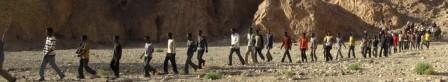 Desierto del Sinaí. Ruta de los sueños rotos
