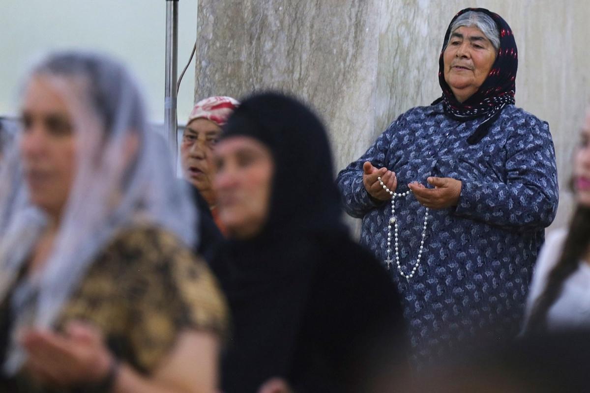 Cristianos en Irak. Foto:Reuters/Stringer