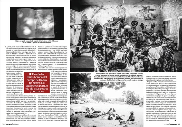 Sobre vivir a Boko Haram.Andy Spyra / Laif / Cordon Press