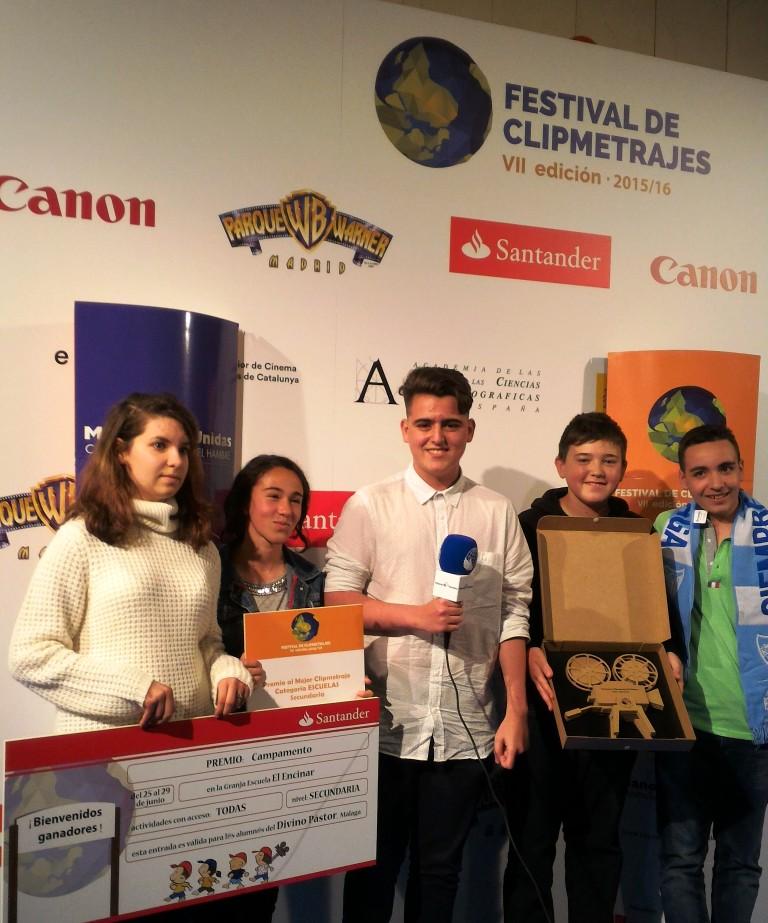 Premio al Mejor Clipmetraje Secundaria_El Divino Pastor. Taller de Producción Audiovisual, Málaga.Foto:Marta carreño