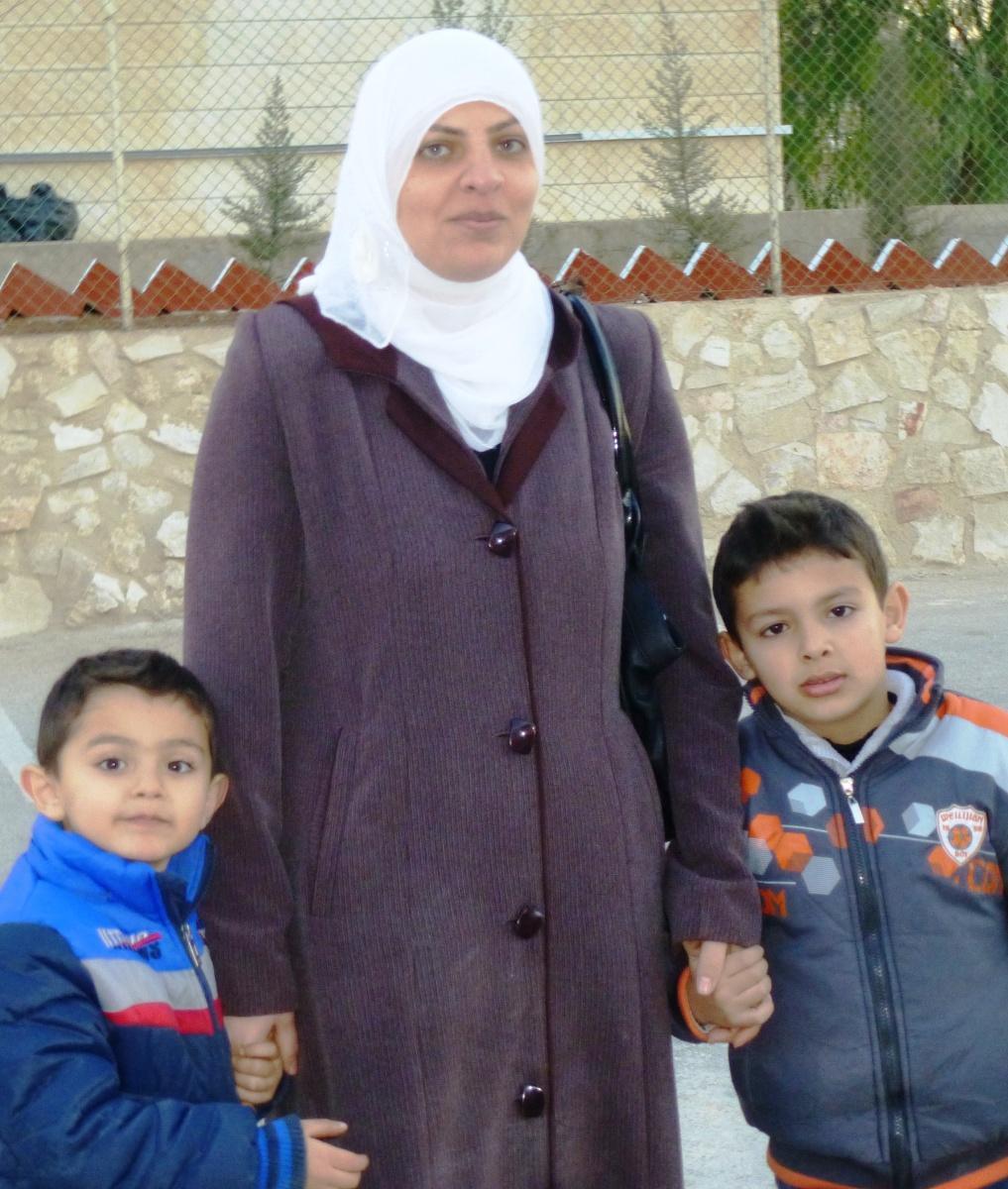 Refugiada siria en Jordania. África Martcitllach