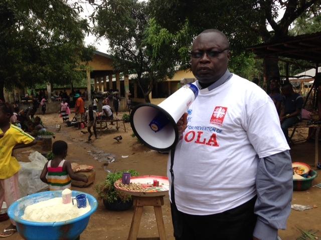 Sensibilización en Sierra Leona. #ebola