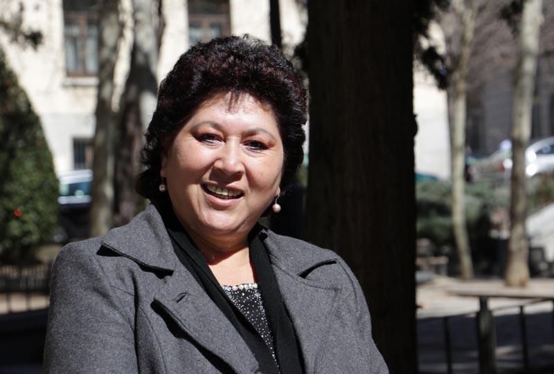 Sonia Brito, fotografía de Irene H-Sanjuán/Manos Unidas