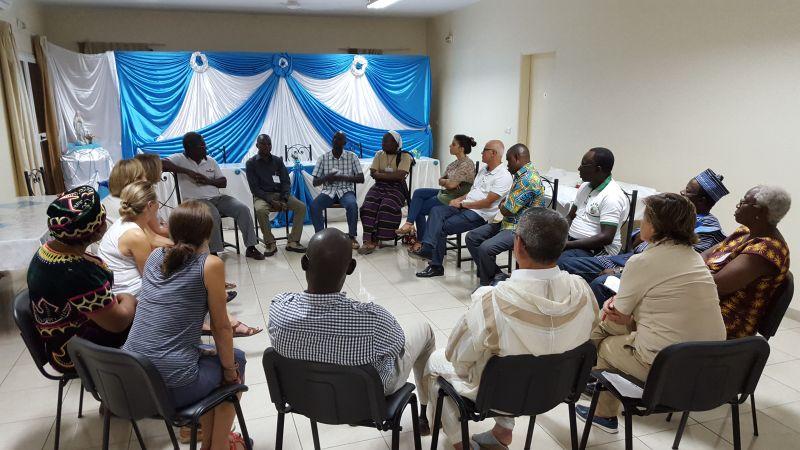 Inauguración de este Encuentro Internacional sobre el Derecho a la Alimentación en África de Manos Unidas en Dakar. Foto. Marta Isabel González/Manos Unidas