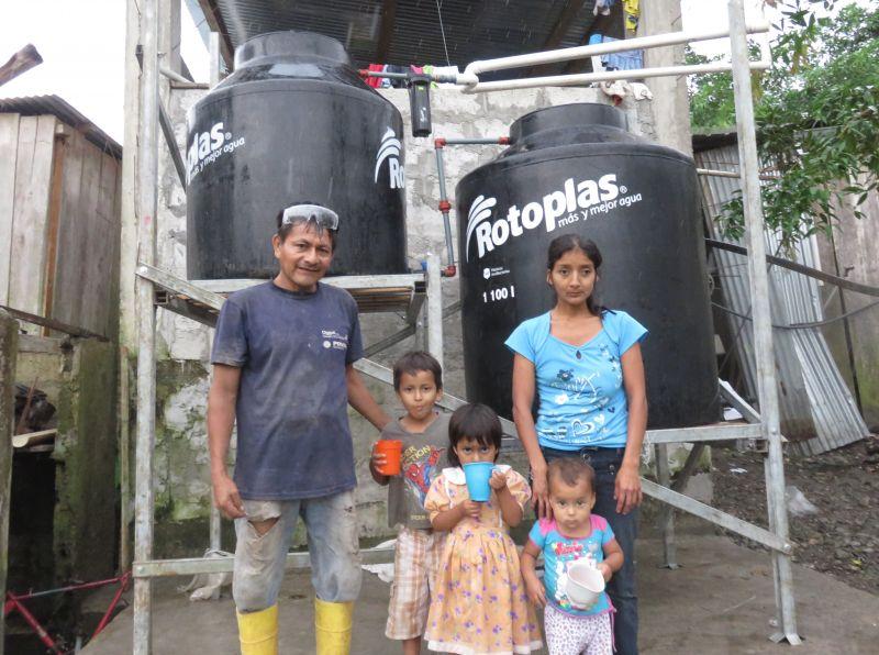 Contaminación del agua en la Amazonía ecuatoriana_Foto: FDA
