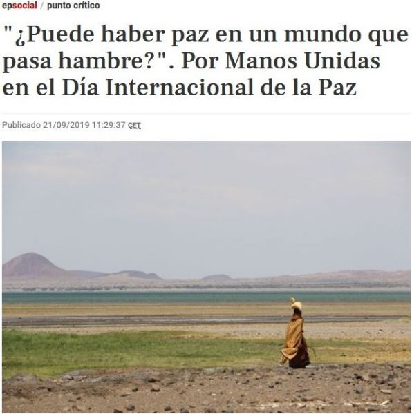 Europa Press - Día Internacional de la Paz