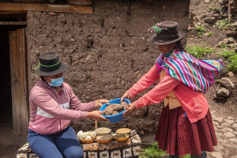 Comunidad María Parado de Bellido. Foto: Ana Castañeda para Manos Unidas en Perú