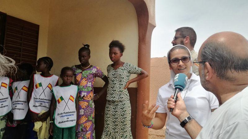 Hermana Janeth Aguirre, misionera en Mali. Foto/Onda Cero