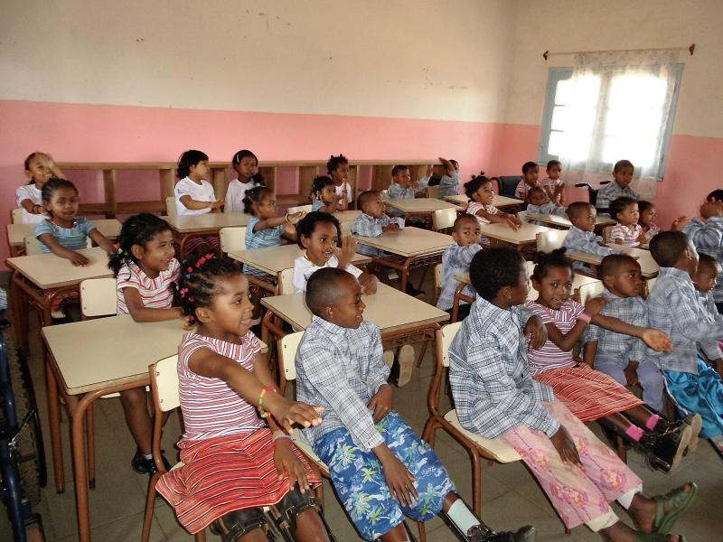 Dia internacional de las personas con discapacidad 2020. Foto: Manos Unidas/Madagascar/