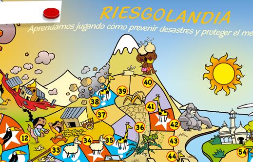 """Juego online solidario """"Riesgolandia"""" (Manos Unidas)"""