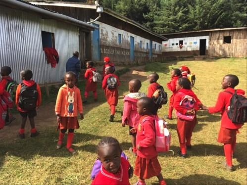 Los niños masai