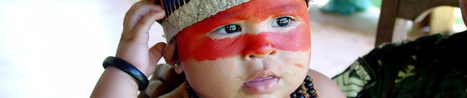 Niña indígena de Roraima.Brasil. Foto: CIMI