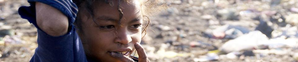 En el basurero de Antananarivo en Madagascar. Foto: Javier Mármol