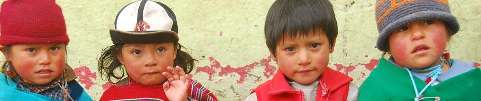 Niños ecuatorianos