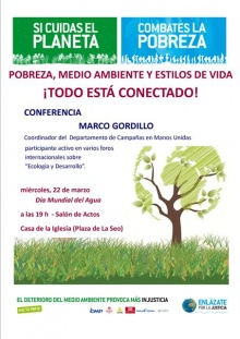 Conferencia en Zaragoza de Marco Gordillo