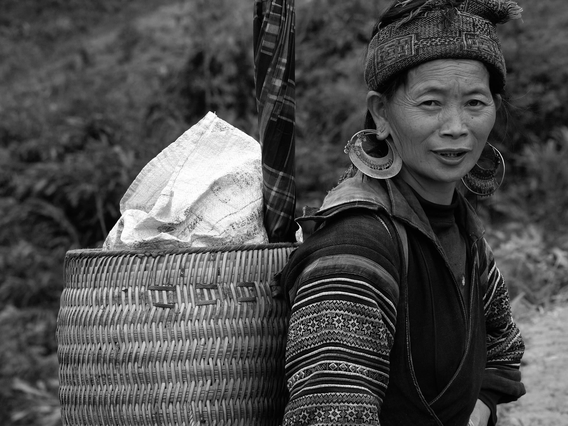 Mujer en Vietnam
