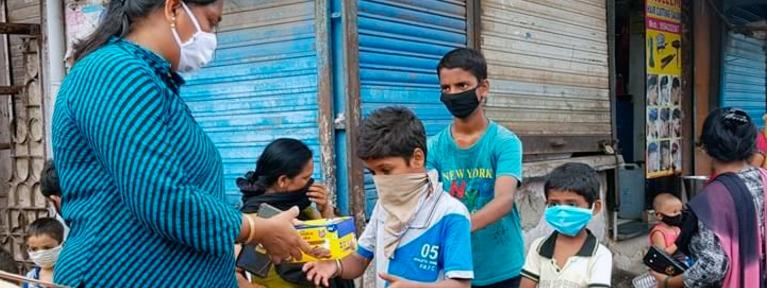 Emergencia Coronavirus Abril-Mayo 2021 (Don Bosco - India)