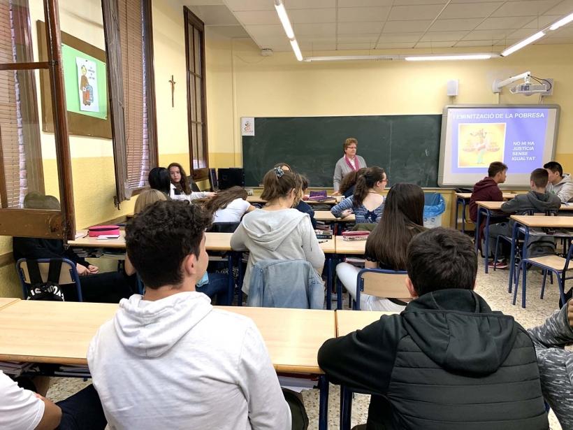 Charla en Colegio Teresianes de Tarragona
