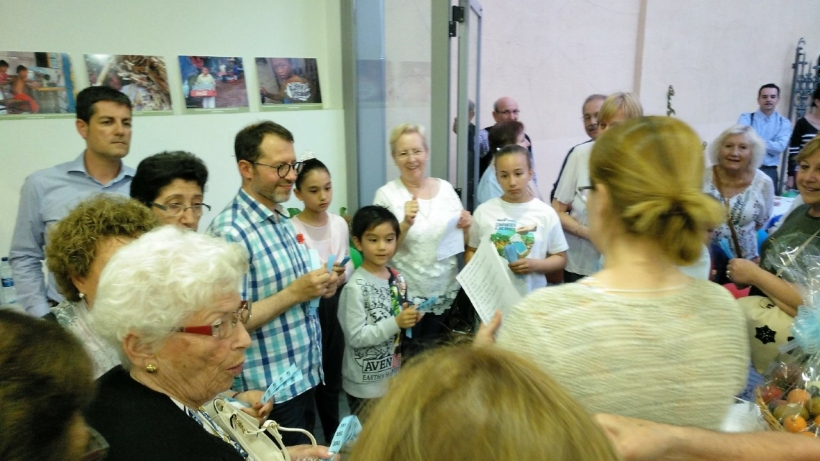 La parroquia de Santa Maria del Mar de Salou solidaria con Manos Unidas