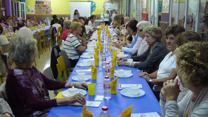 """Merienda del hambre"" en Tarragona"