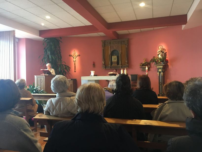 Misa de primavera en la delegacion de Pamplona