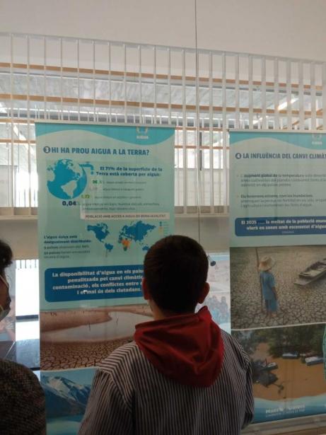 """Exposición """"El agua es esencial para la vida"""""""