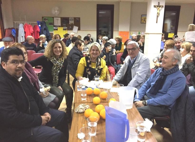 Cena del Hambre en la comarcal de Manos Unidas Pego.
