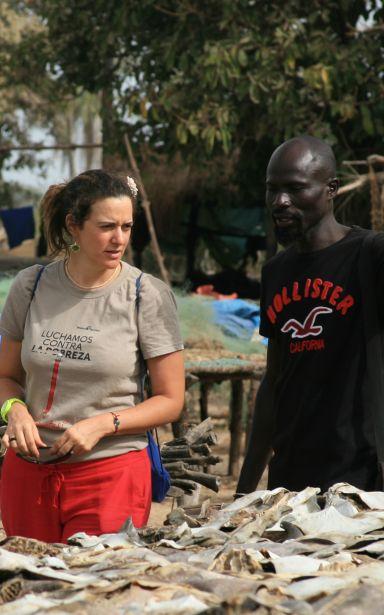 Alejandra Escalada, expatriada desde 2015 en Senegal