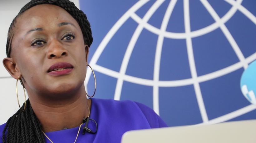 Caddy Adzuba. Periodista y Activista de RDC