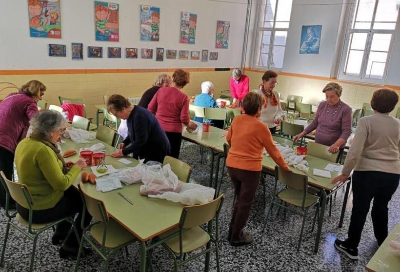 Imagen del almuerzo solidario del año anterior organizado por la delegación comarcal de Manos Unidas en Carcaixent.