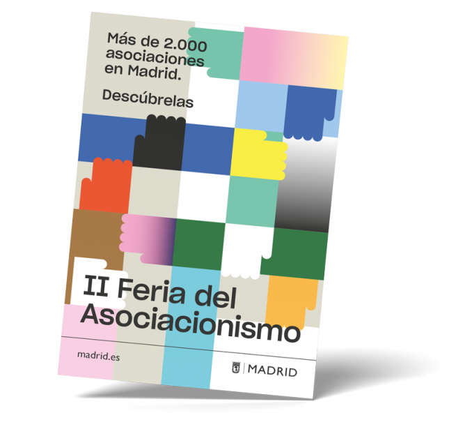 Cartel de la II Feria del Asociacionismo de Madrid 2020