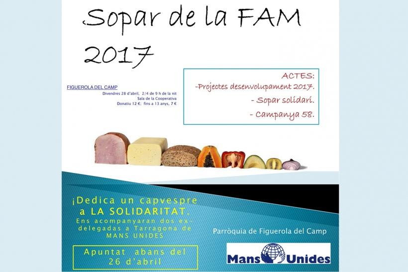 Cena Solidaria en Figuerola del Camp