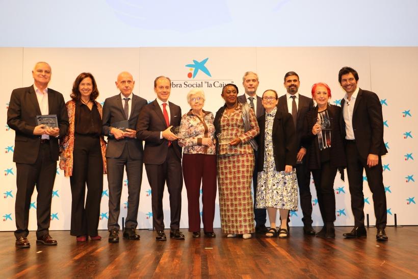 Acto de entrega de premios 60 aniversario de Manos Unidas