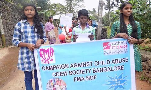 No al abuso de niños
