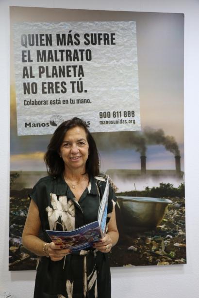 Clara Pardo Cartel campaña 61. Foto: Manos Unidas/Irene Hernández-San Juan