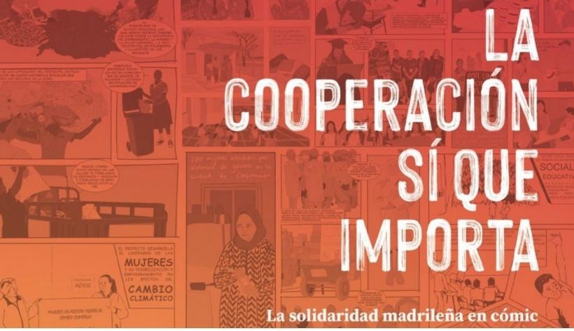 Un proyecto de Manos Unidas en el Cómic editado por la Red de ONGD de Madrid