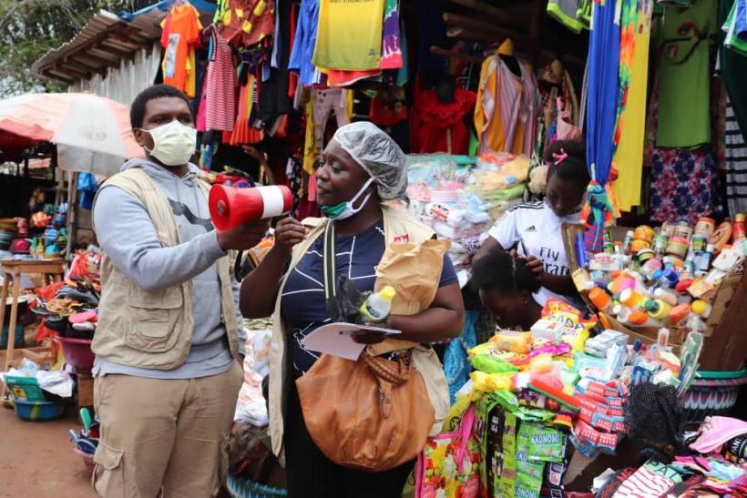 Los medios hablan de nosotros por... el «Día Internacional de la Eliminación de la Violencia Contra la Mujer 2020» Foto: Sierra Leona   Manos Unidas