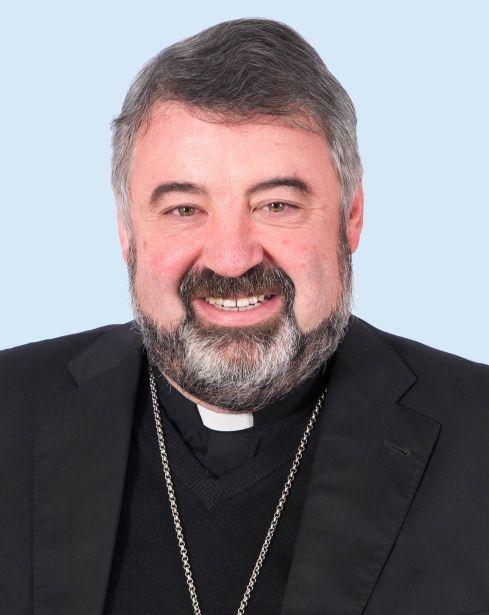 Monseñor Carlos Escribano consiliario nacional de Manos Unidas