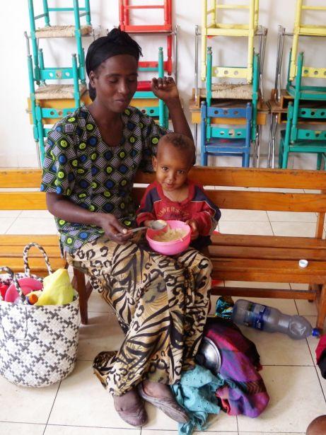 Etiopía.Emergencia alimentaria en Zway. Foto:Penny Mathes