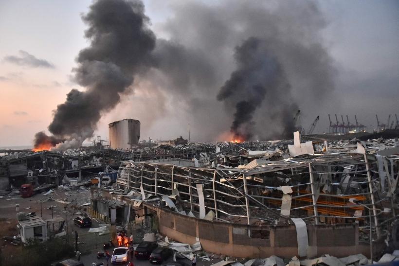 Explosión en Líbano. Foto tomada de Associated Press