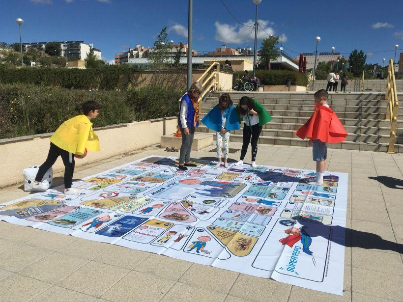 Manos Unidas en el Dia de la Familia 2019 de Colmenar Viejo