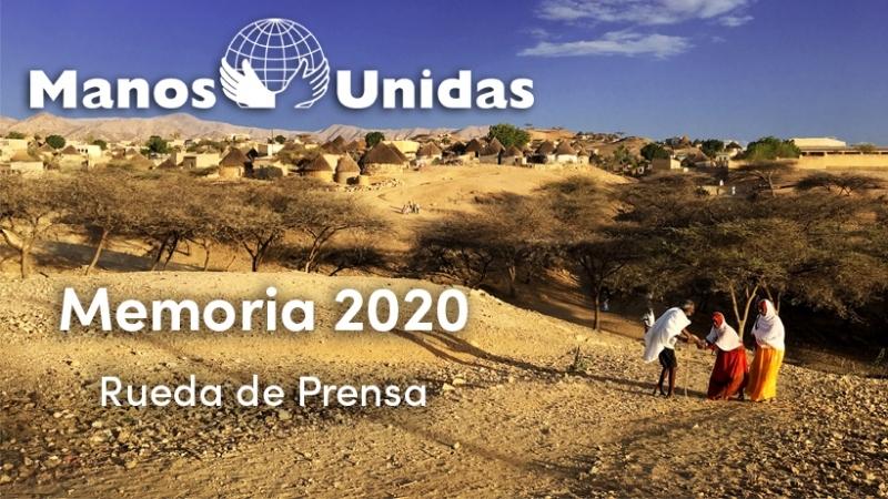 Rueda de prensa de presentación de la Memoria 2020 de Manos Unidas