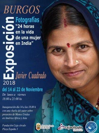 """Exposición fotográfica """"24 horas en la vida de una mujer en India"""""""