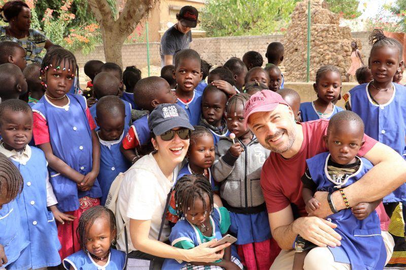 Cadena 100 en Senegal_ Foto: Manos Unidas/Marta Carreño