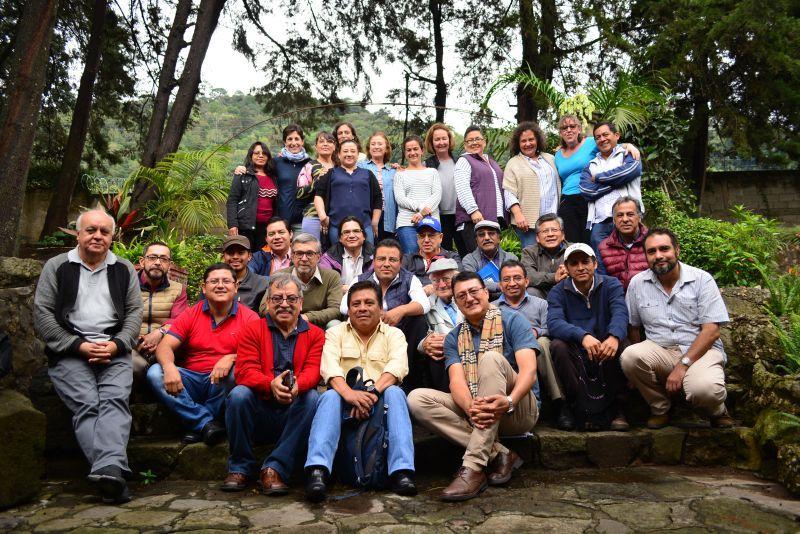 Foto de Grupo del Encuentro de Socios locales de Manos Unidas en Guatemala. FOTO Diria Berna